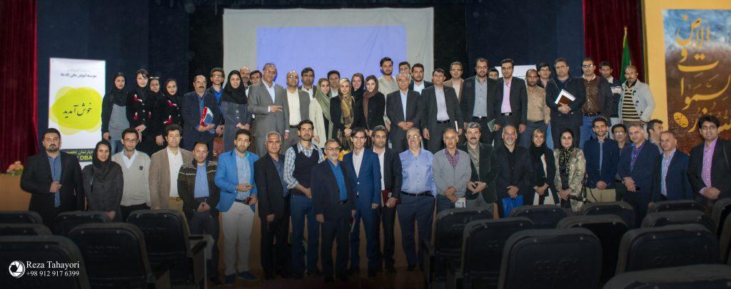 سخنرانی پروفسور نجاتی در شیراز